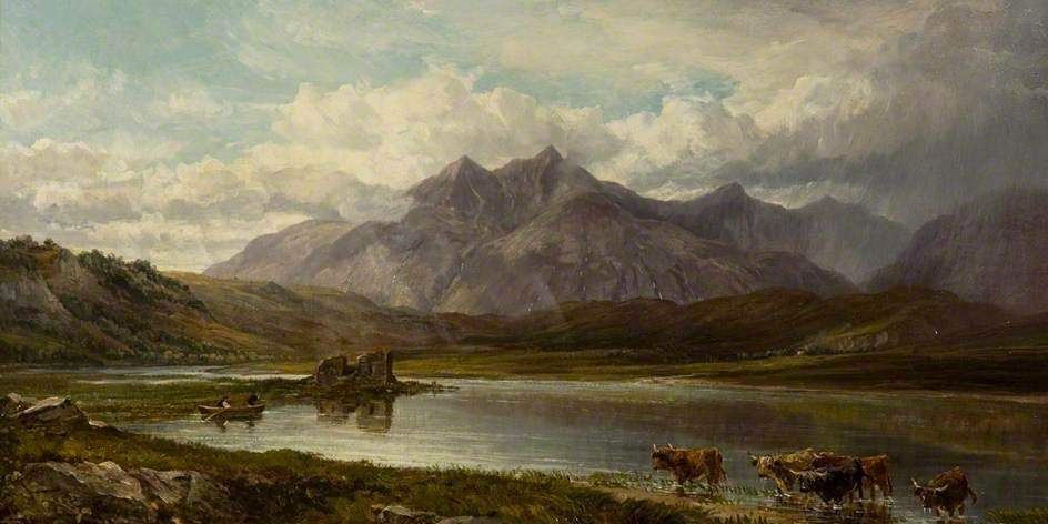 Perigal the younger, Arthur; Loch Tromlee, Argyll; Dundee Art Galleries and Museums Collection (Dundee City Council); http://www.artuk.org/artworks/loch-tromlee-argyll-92791